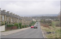 SE1734 : Oxford Road - viewed from Peel Park Drive by Betty Longbottom