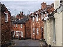 TM2749 : Narrow street in Woodbridge by Andrew Hill