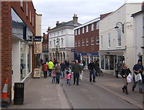 TM2749 : The Thoroughfare, Woodbridge by Andrew Hill