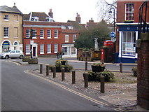 TM2749 : Town scene in Woodbridge by Andrew Hill