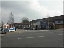SZ0995 : Red Hill, Westover Retail Park by Mike Faherty