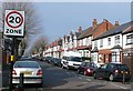 SP0983 : Doris Rd Sparkhill by Nigel Mykura