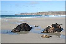 SW3526 : Whitesand Bay by Rod Allday
