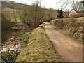 ST1835 : Approaching Durborough Farm by Derek Harper