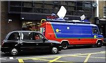 TQ2677 : GMTV Outside Broadcast Van by PAUL FARMER