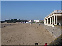 ST1166 : Barry Island: view across Whitmore Bay by Chris Downer