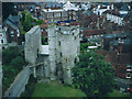 TQ4110 : Lewes Castle: Barbican by Stephen Craven