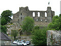 SM9515 : Haverfordwest Castle by Mick Heraty