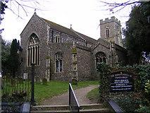 TM3877 : St.Mary the Virgin Church, Halesworth by Adrian Cable