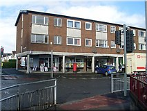 NS5164 : Shops and flats, Penilee Road by Stephen Sweeney