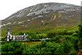 B9219 : Derelict church and Mount Errigal by Joseph Mischyshyn