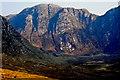 B9416 : Poison Glen - Back walls of Derryveagh Mountains by Joseph Mischyshyn