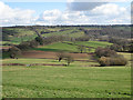 SO4322 : View across the Monnow Valley by Pauline E