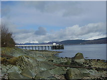 NS1981 : Blairmore Pier by John Ferguson