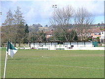 TQ1649 : Dorking FC, Meadowbank by Colin Smith