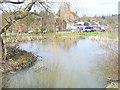TQ1647 : North Holmwood Village Pond by Colin Smith