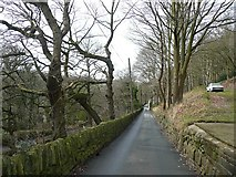 SE0424 : Rose Grove Lane, Luddenden Foot by Humphrey Bolton