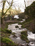 SD9163 : Janets Foss looking upstream by Dave Beynon