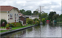 SJ9214 : Staffordshire and Worcestershire Canal at Penkridge by Roger  Kidd