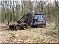 SP8808 : Tractor use in the recent timber extraction by Chris Reynolds