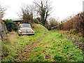 TQ7036 : Abandoned Morris Minor by Oast House Archive