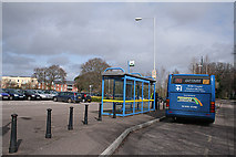 SX9591 : Exeter: Park & Ride at Digby by Martin Bodman