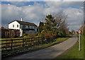 SE7837 : Bulmer Lane, Water End by Paul Harrop