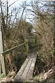 SU4190 : Footbridge to the canal by Bill Nicholls