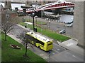 NZ2563 : Bus, Gateshead by Richard Webb