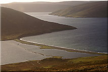 HU4472 : South Ayre, Dales Voe by Mike Pennington