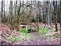 SP9208 : Stile on the Hertfordshire side of Shire Lane, Hastoe by Chris Reynolds