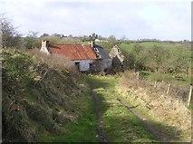 H5371 : Ruin at Bracky by Kenneth  Allen