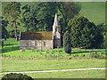SJ1532 : St. Garmon's church, Llanarmon Dyffryn Ceiriog by Richard Green