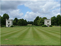 TQ1776 : Lawn at front of Syon House by PAUL FARMER
