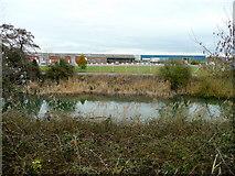 SO6401 : View across Lydney Harbour by Jonathan Billinger