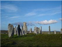 NB2133 : Calanais Stone Circle by peter knudssen