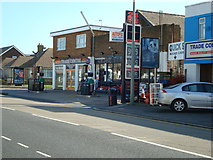 TQ4100 : Petrol Station, South Coast Road, Peacehaven, East Sussex by Stacey Harris