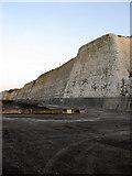 TQ4100 : Peacehaven Cliffs by Simon Carey