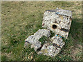 SK5644 : Sunrise Hill Triangulation pillar by Alan Murray-Rust