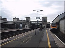 SX9193 : Exeter St David's Station from the north by Sarah Charlesworth
