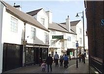 SJ9223 : Salter Street from the corner of  Bank Passage by Simon Huguet