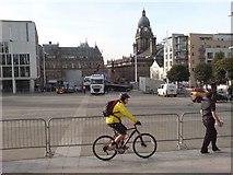 SE2934 : Millennium Square, Leeds by Rich Tea