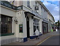SX9265 : Hairdresser next to pub, St Marychurch precinct by Joan Vaughan