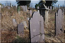 SH4862 : Mynwent Llanbeblig Cemetery by Alan Fryer
