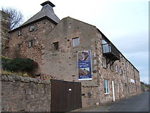 NU0052 : The old maltings on the harbour, Berwick-upon-Tweed by Barbara Carr