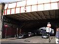TQ3078 : Rail Bridge over Juxon Street by PAUL FARMER