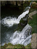 NY7346 : Waterfall on River Nent by Roger Morris