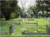 SP9113 : Wilstone Cemetery, near Tring by Chris Reynolds