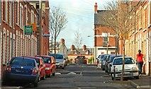 J3472 : Damascus Street, Belfast by Albert Bridge