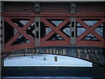 NS5964 : City Union Railway bridge detail by Thomas Nugent